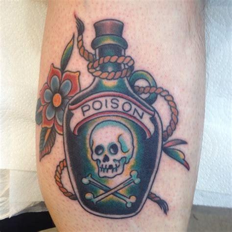 popular poison bottle tattoo ideas  designs