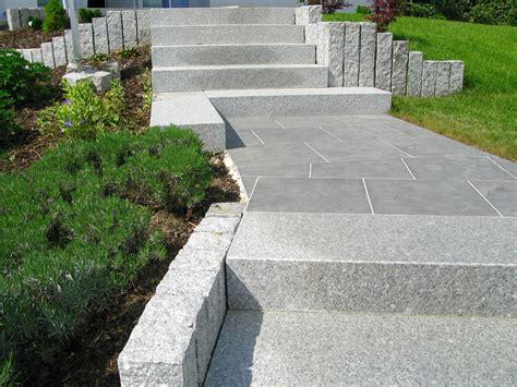 pflege granitplatten granitterrasse reinigen und versiegeln naturstein