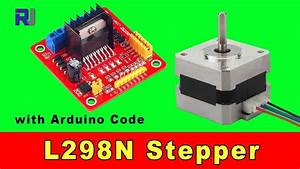 Using L298n Stepper Motor Driver To Control 4 Wires Stepper Motor