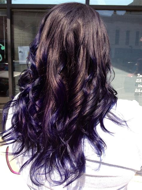 77 Best Ombre Purple Hair Images On Pinterest Colourful