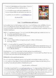 Coco Movie Guide   Activities  Color   Black  U0026 White