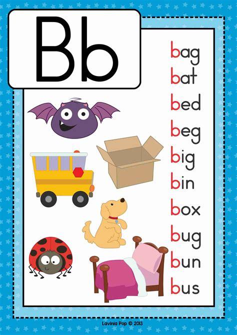 alphabet phonics letter of the week b preschool