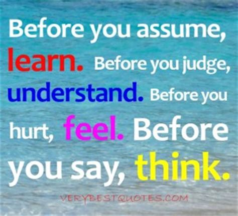 Think Before You Speak Quotes Sayings