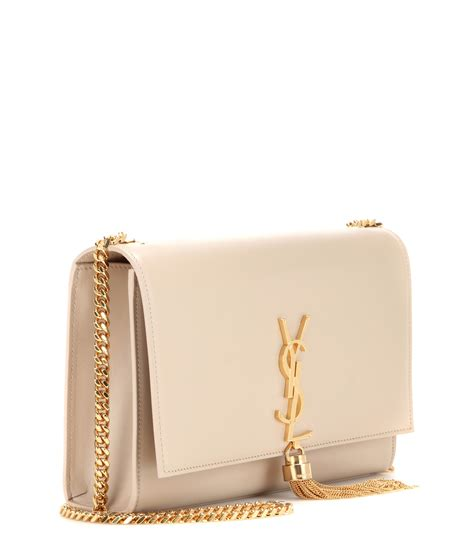 saint laurent classic small monogram leather shoulder bag