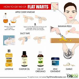 How To Get Rid Of Flat Warts