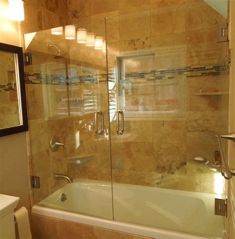 tub shower doors shower door glass best choice glass door panel