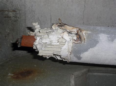 asbestos insulation damaged  maintenance activity flickr
