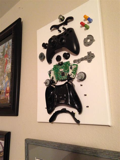 exploded view model   xbox  controller diy