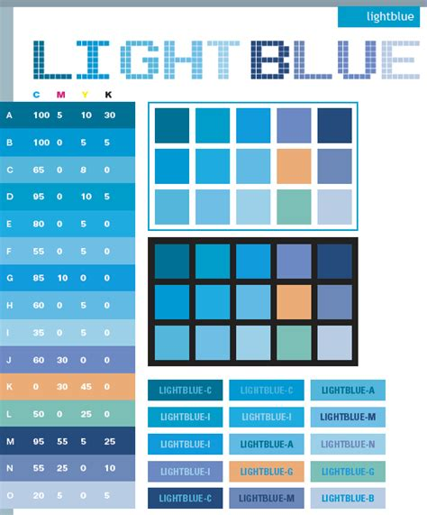 what colors go with blue light blue color schemes color combinations color palettes for print cmyk and web rgb html