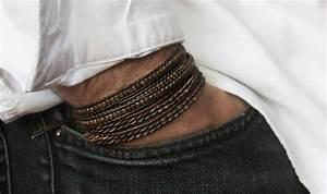 casteld reinvente les bijoux pour les hommes montre With bijoux homme or