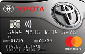 Toyota Rewards Visa by Metrobank Card