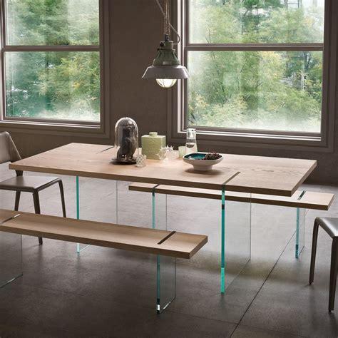tisch aus glas agazia t fester designer tisch 160x90 cm mit beinen aus glas platte aus verschiedenen