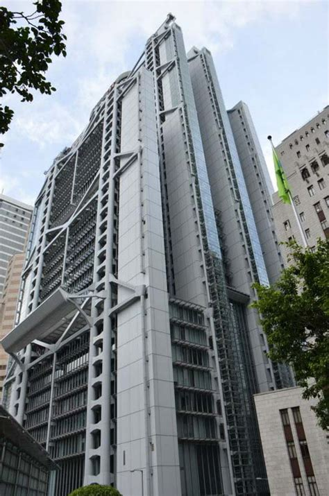 hong kong  shanghai banking corporation headquarters  skyscraper center