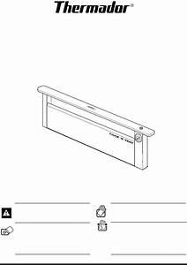 Thermador Ventilation Hood Cvs30r User Guide