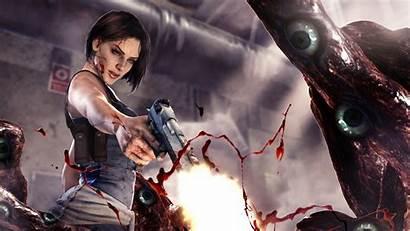 Resident Jill Evil Remake Valentine Nemesis 4k