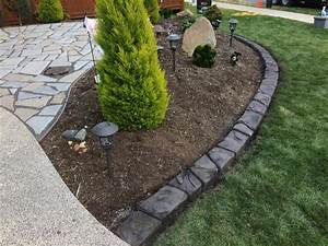 Decorative, Concrete, Lawn, Edging