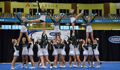 competitive cheer kentucky high school athletic association