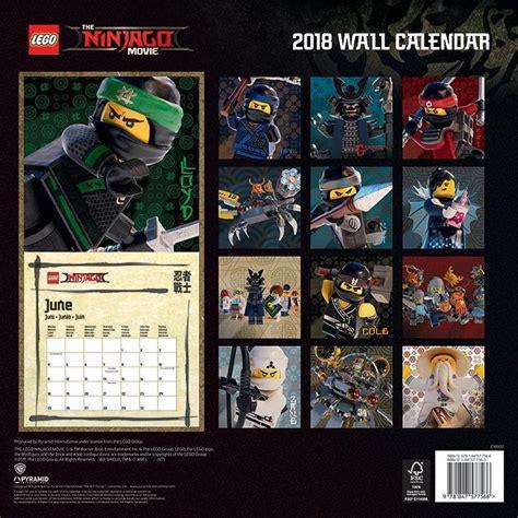lego ninjago official calendar calendars diaries
