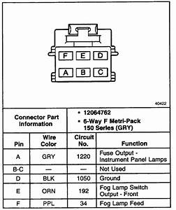 Oem Fog Light Switch Wiring - Blazer Forum