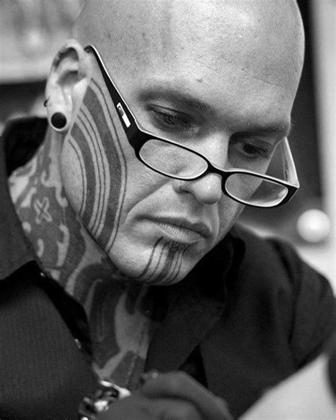 Top 90 Most Amazing Men's Face Tattoos [2020 Inspiration Guide]