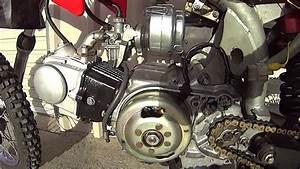 Honda Z50 Atc 70 Noise Hiss