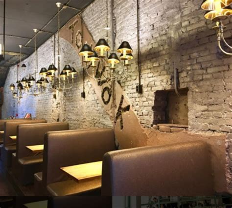 restaurante estilo industrial lilura design
