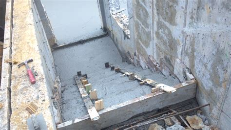 Pouring The Concrete Basement Floor Willa039s Castle