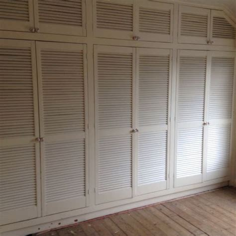 White Louvre Cupboard Doors by Image Result For Louvre Wardrobe Doors With Drawers