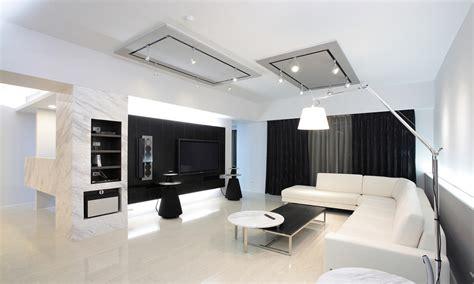 living room black and white black and white modern living room design Modern