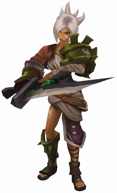 Riven Render League Legends Tft Wiki Wikia