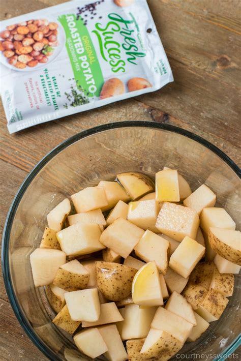 potatoes fryer air roasted seasoning mix potato oven seasoned tablespoon crispy