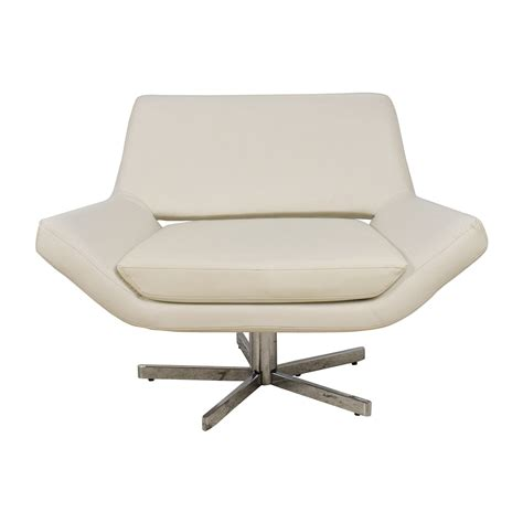 white leather sofa and chair 85 off faux white leather accent chair chairs