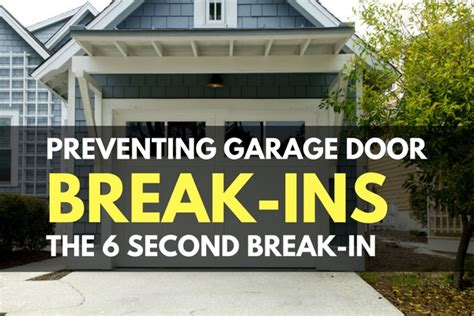 Preventing Garage Door Breakins  The 6 Second Breakin. Door Lock Types. Steel Doors For Sale. Garage Door Combination Lock. Custom Iron Doors. Holmes Garage Door Reviews. Prefab 2 Story Garage Apartment. 14 Ft Garage Door. 7 X 9 Garage Door