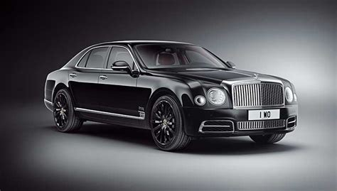 Bentley to make 100 limited edition Mulsanne W.O. Edition ...