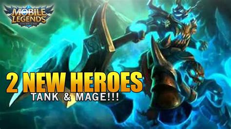 Mobile Legends 2 New Heroes! Which New Hero Do You Want