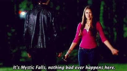 Elena Gilbert Vampire Diaries Damon Funny Dobrev