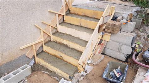 faire un escalier faire un escalier en beton
