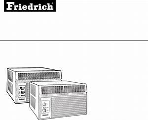 Friedrich Air Conditioner 2003 User Guide