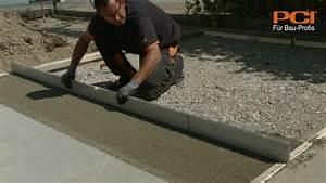 Terrassenplatten Verfugen Wasserundurchlässig : verlegung von outdoor keramik auf drainm rtel pci pavifix dm youtube ~ Orissabook.com Haus und Dekorationen