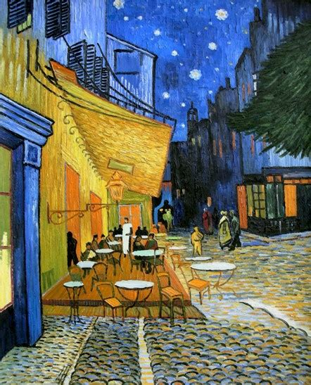 gogh cafe terrace at the psychological dichotomy in vincent gogh s cafe