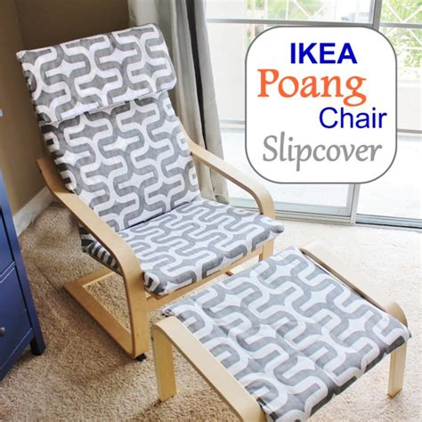 poang chair cover grey 13 easy and fast diy ikea poang chair hacks shelterness