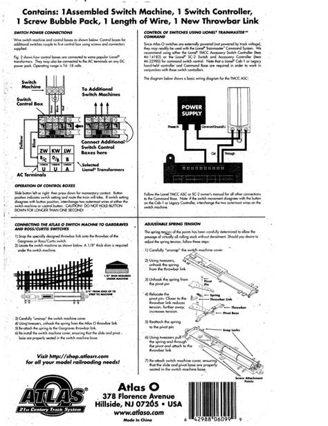 Tortoise Wiring For Turn Out by Diagram Tortoise Switch Machine Wiring Diagram Connector
