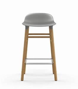 Tresenhocker 65 Cm Sitzhöhe : form bar stool h 65 cm oak leg grey oak by normann copenhagen ~ Bigdaddyawards.com Haus und Dekorationen