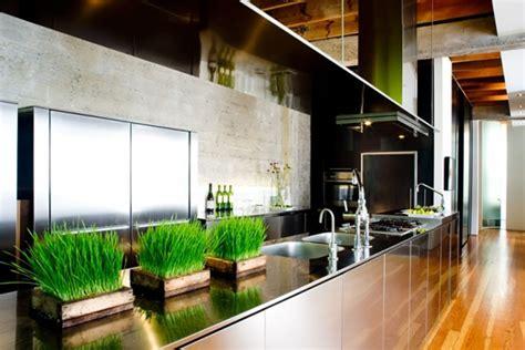 Minimalist And Functional Open Kitchen Interior Design Of