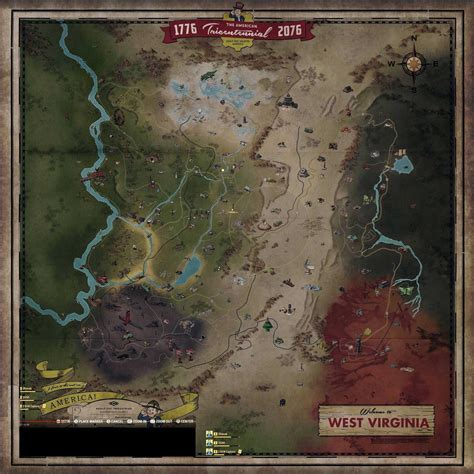 fallout  huge map details  massive game world