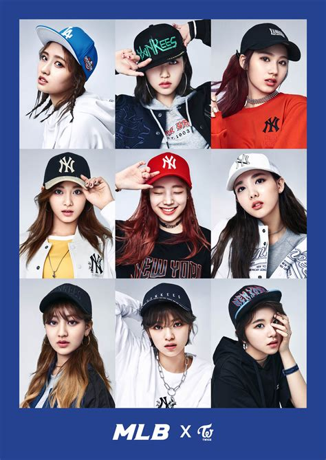 TWICEu0026#39;S SPORTY LOOKS for MLB KOREA (Plus Scenes from the Set!) - Kpop Korean Hair and Style