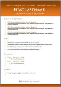 modern resume templates free download psd effects free cv templates 50 to 56 freecvtemplate org
