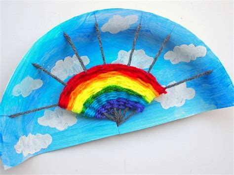 easy rainbow crafts  kids  toddlers styles  life