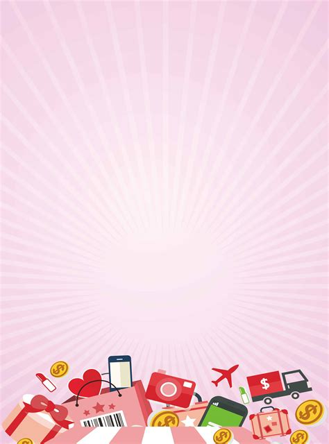 shopping mall promotional poster background