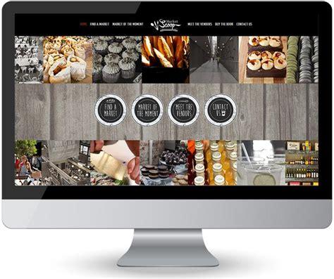 market website food market community website design market scoop